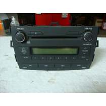 Cd Player Original Toyota Corola 09...carro Com 3 Mil Km