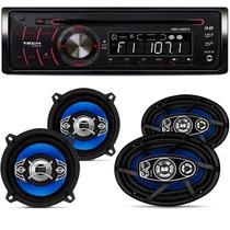 Cd Player Original Volkswagen Par Alto Falante 5 E 6x9 310w