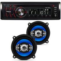 Auto Radio H-buster Hbd 2480 Vw Par Falante Orion 5 Pol 110w