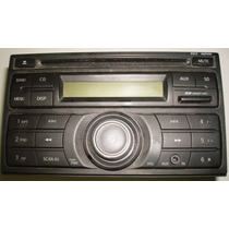 Radio Cd Player Mp3 Ssd Nissan Livina, March,tiida, Frontier