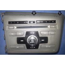 Radio Cd Mp3 New Civic 2012 2013 2014 2015