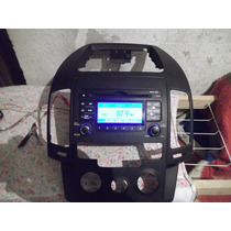 Cd Player Original Hyundai I 30 Com Moldura E Cabo De Ipod