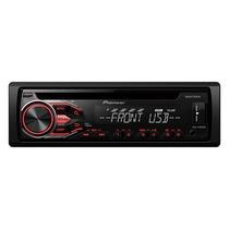 Cd Player Pioneer Deh-x1850 Ub Automotivo Radio Aux Mp3 Usb