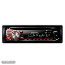 Toca Cd Player Mp3 Pioneer Deh-1750ub Usb Pendrive Novo
