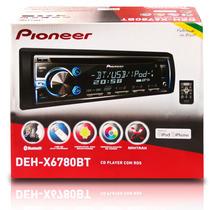 Cd Player Pioneer Deh-x6780bt Bluetooth, Mixtrax, Usb