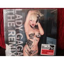 Cd-lady Gaga - The Remix Lacrado Digipack Orig Frete Grátis