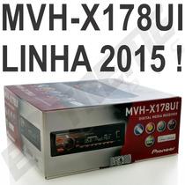 Pioneer Mvh-x178ui Mp3 Mvh X178 Mixtrax 178 Lancamento 2015