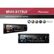 Media Receiver Pioneer Mvh-x 178 Ui Usb Substitui Mvh 168