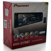 Media Receiver Pioneer Mvh-x368bt Bluetooth Usb Mixtrax
