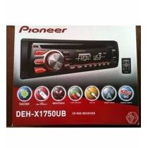 Caixa Cd Player Player Pioneer Deh-x1750ub (apenas A Caixa)