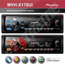 Media Receiver Pioneer Mvh-x178ui Linha 2015 ! Mixtrax