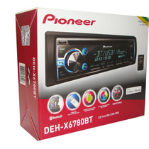 Cd Player Pioneer Deh-x6780bt Bluetooth, Mixtrax, Usb, Aux