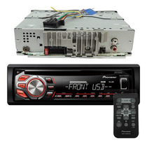 Toca Cd Player Pioneer Automotivo Deh 1750 Radio Aux Mp3 Usb