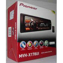 Auto Radio Pioneer Mvh-x178ui Duas Cores Mixtrax Usb Rca