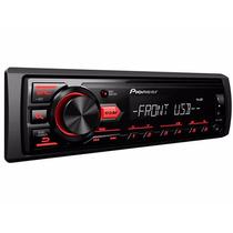 Aparelho Som Pioneer Mvh-088ub Radio Usb Mp3 Am Fm Mod. 2016