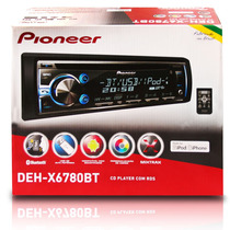 Toca Cd Pioneer Deh-x6780bt Bluetooth, Mixtrax, Usb, Aux