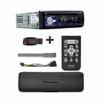 Mp3 Toca Cd Pioneer Deh-x4880bt Usb Bluetooth + Pen Drive 8g