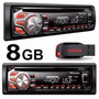 Toca Cd Pioneer Automotivodeh 1650 Radio Usb-aux-mp3+pen 8gb