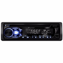 Toca Cd Player Pionner Deh X1880 Usb Frontal 2016 Lançamento