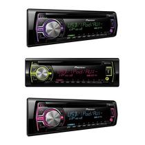 Toca Cd Mp3 Pioneer Deh 3550 Usb Fm/am Mixtrax Multicores