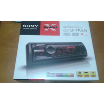 Cd Sony Mp3 Cdx Gt 710uv Com Usb Frontal -ipod