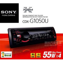 Cd Player Automotivo Sony Cdx-gt1050u Usb / Mp3