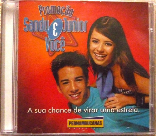 Cd-sandy E Junior E Voce-casas Pernambucanas