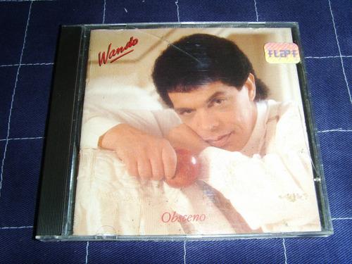 Cd - Wando - Obsceno - 1989