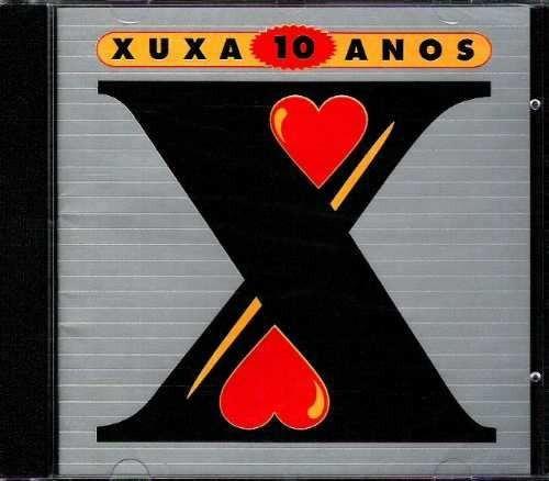Cd-xuxa-10 Anos
