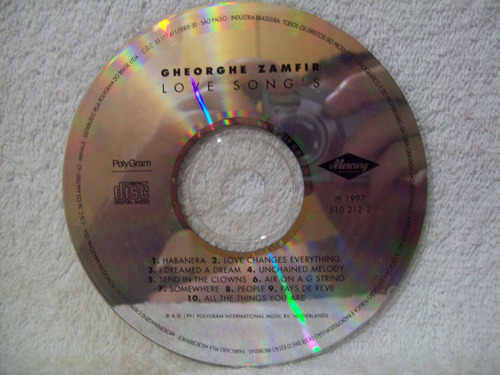 Cd Zamfir- Love Songs