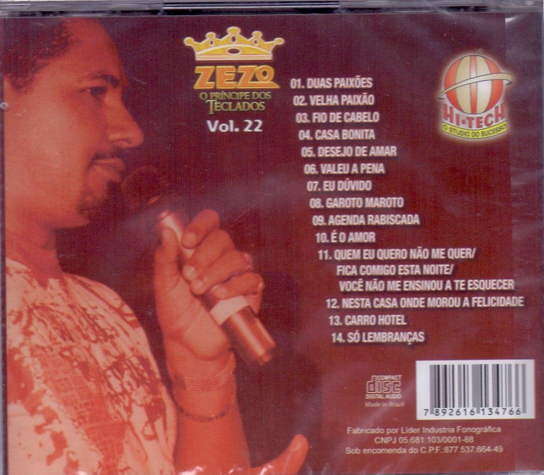 Zezo - O Príncipe Dos Teclados - Vol. 5