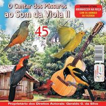 Cd Canto De Pássaros Ao Som -da Viola Vol Il