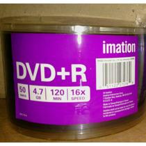 100 Dvd+r Imation 16x Logo ( Obs, Nao E Dl 8,5gb)