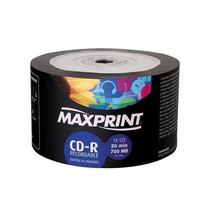 Cd-r Maxprint 52x 700mb / 80 Min Mídia (bulk C/ 50)