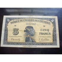 Rara Cédula Da Africa Ocidental - Leste Pára Coleção 1942