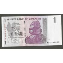 Cédula - Zimbabwe One Dollar 2007 - Fe