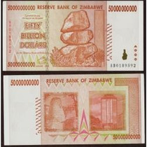 Zimbábue 50 Bilhões Dollars 2008 P. 87 Fe Cédula - Tchequito