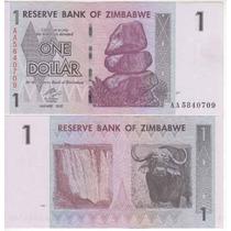 Cedula De Zimbabwe De 1 Dollar - Fe