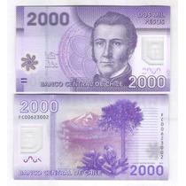 Chile, 2.000 Pesos, 2012, Fc , Fe. Cédula De Polímero.