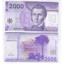 Chile, 2.000 Pesos, 2012, Fb , Fe. Cédula De Polímero.