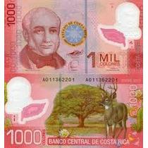 Costa Rica - 1.000 Colones De 2.009 - Fe.- Polímero.