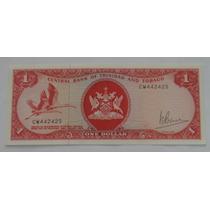 Trinidad & Tobago: Bela Cédula 1 Dollar 1964 Fe
