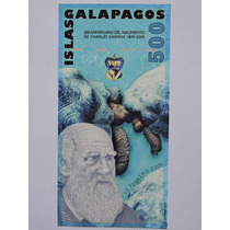 Galápagos 500 Nuevos Sucres 2009 Polimero Fe