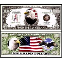 United States Md-88 Fe 1 Milhão De Dólares Águia Americana