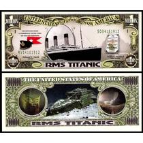 United States Md-148 Fe 1 Milhão De Dólares Titanic * Q J *