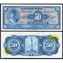 México 50 Pesos 1970 P. 49s Fe Cédula - Tchequito