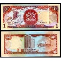 Trinidad & Tobago P-41b Fe 1 Dollar 2002 * Q J *