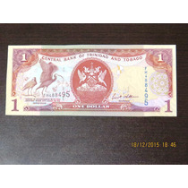Cedula De Trinadade E Tobago 1 Dollar 2006 Fe