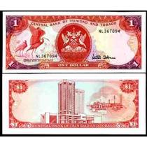 Trinidad E Tobago 1 Dollar 1985 P. 36d Fe Cédula - Tchequito