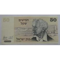 Israel: Bela Cédula 50 Sheqlim De 1978 Fe